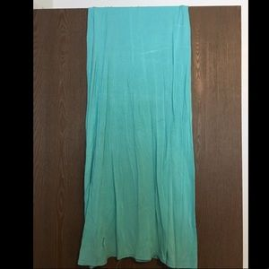 Cute blue maxi skirt